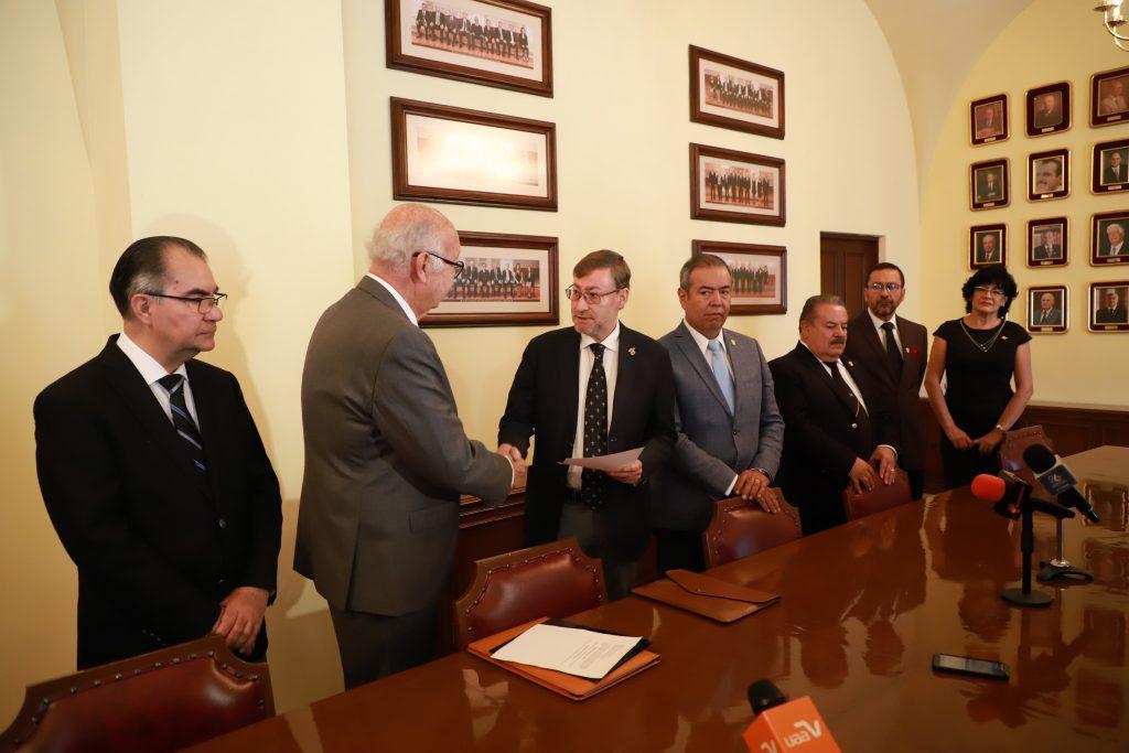 H. Junta de Gobierno de la UAA designa por unanimidad al doctor Francisco Javier Avelar González como rector para el periodo 2020-2022