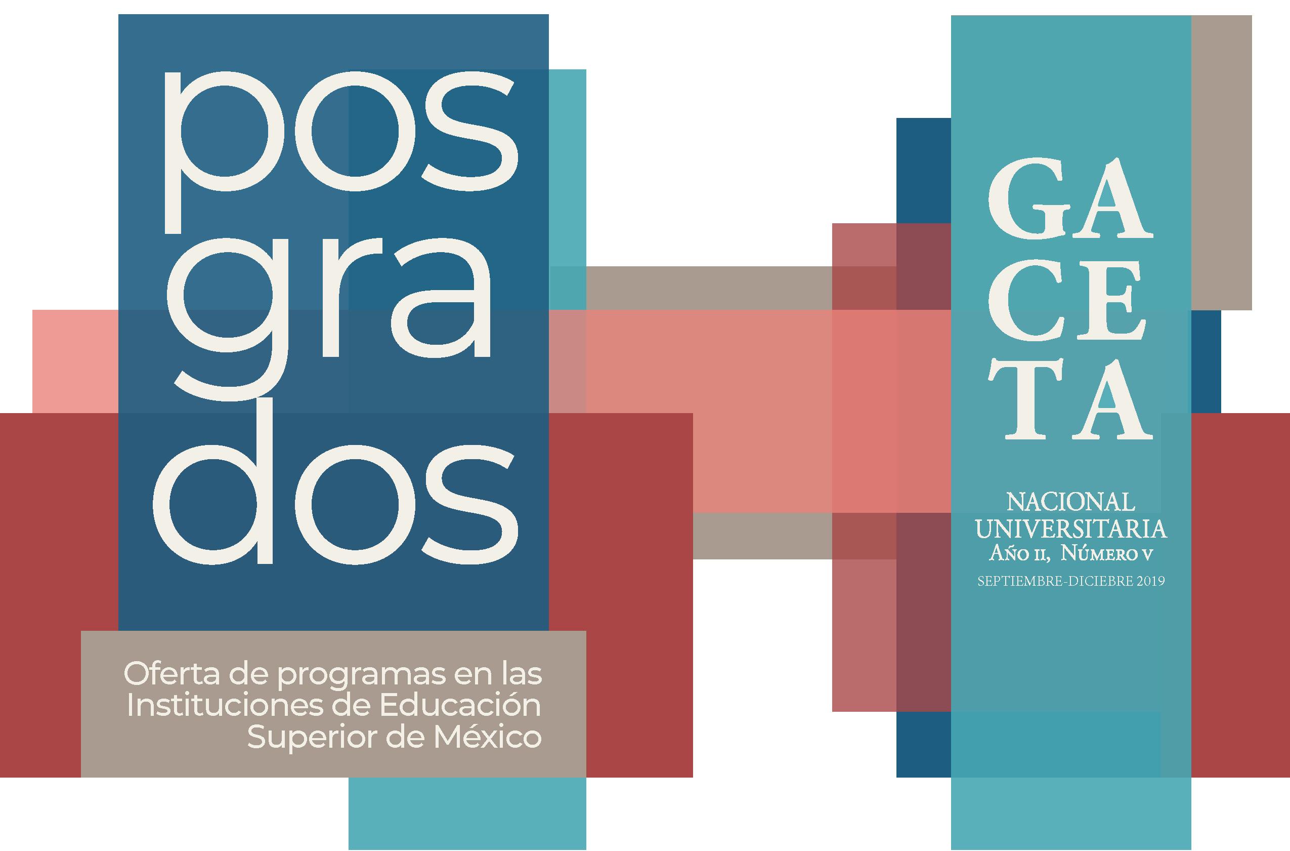 GNU No. 5 Oferta de posgrados en las IES de México