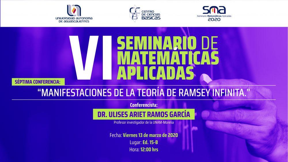 VI Seminario de Matemáticas Aplicadas