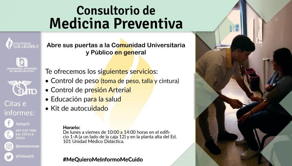 Consultorio de Medicina Preventiva