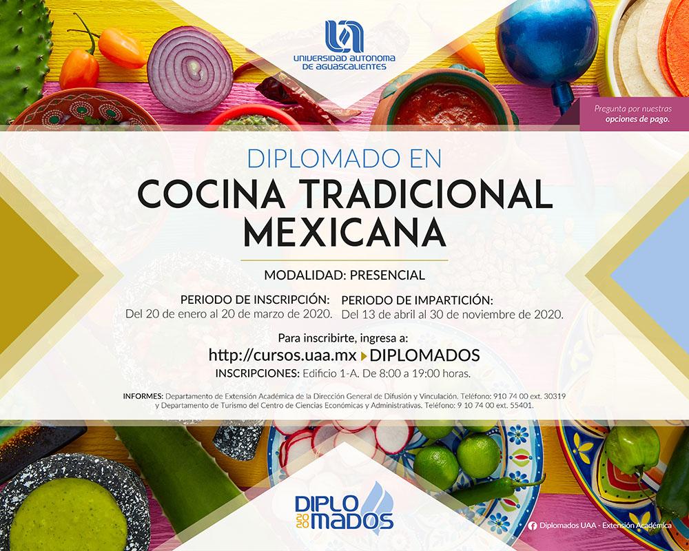 DIPLOMADO EN COCINA TRADICIONAL MEXICANA
