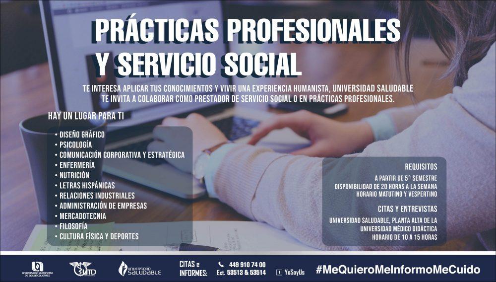 Prácticas Profesionales y Servicio Social