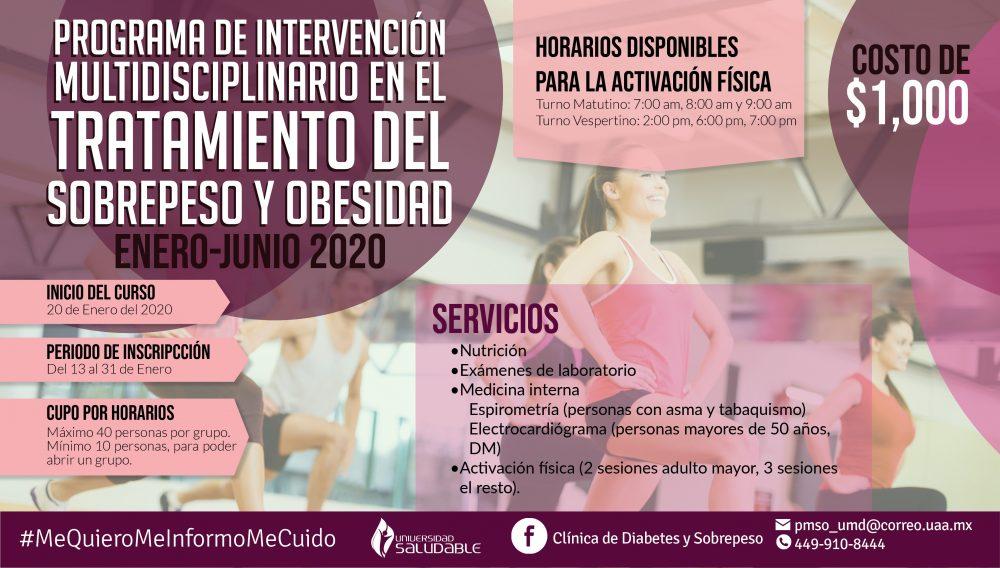 Programa de intervención en el tratamiento del sobre peso y obesidad