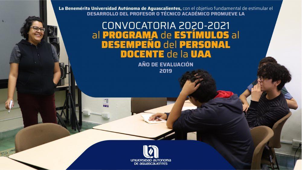 Programas de Estímulo al Desempeño del Personal Docente de la UAA