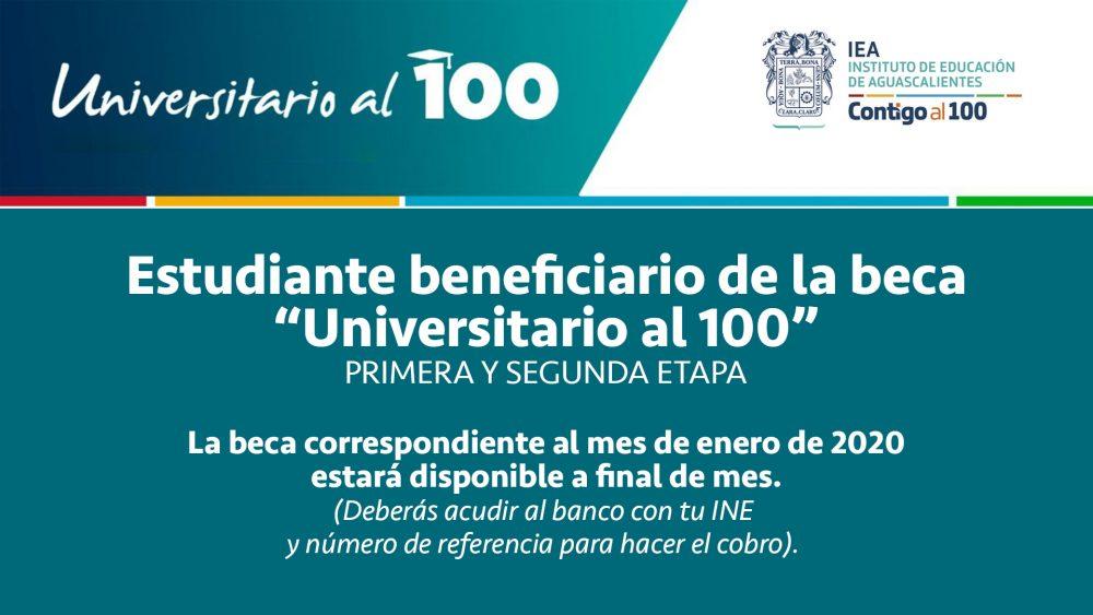 """Universitarios al 100"" PRIMERA Y SEGUNDA ETAPA"