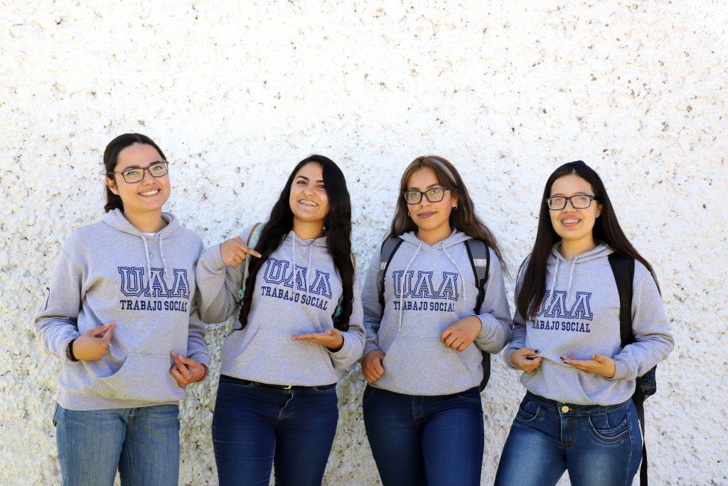 Estudiantes de trabajo social de la UAA inician práctica comunitaria en Pabellón de Arteaga y Jesús María