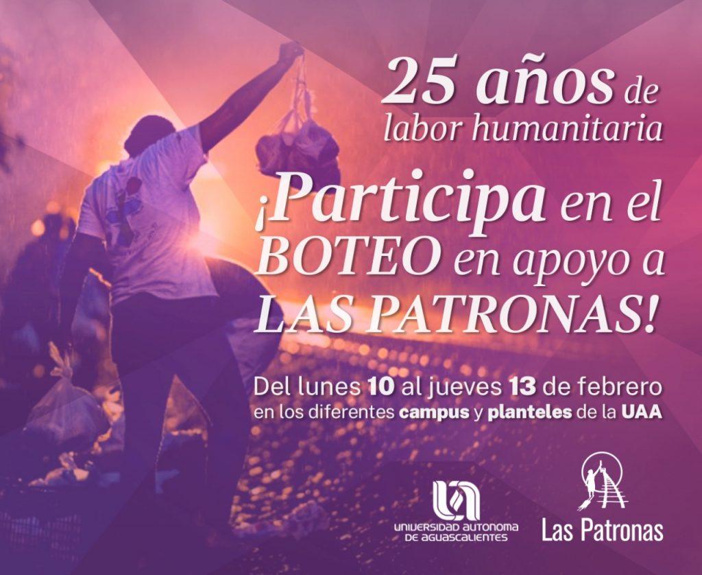 UAA reconoce 25 años de labor humanitaria de Las Patronas con actividades en su honor