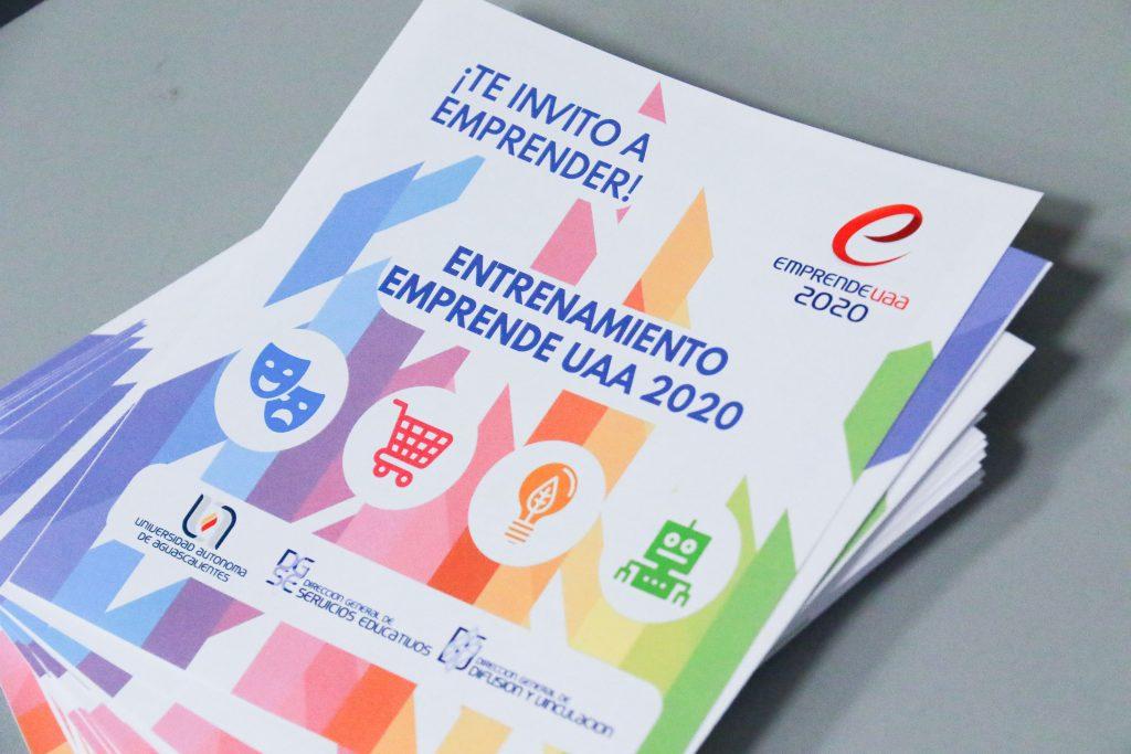 UAA invita a consolidar ideas de negocio mediante el Entrenamiento EmprendeUAA 2020