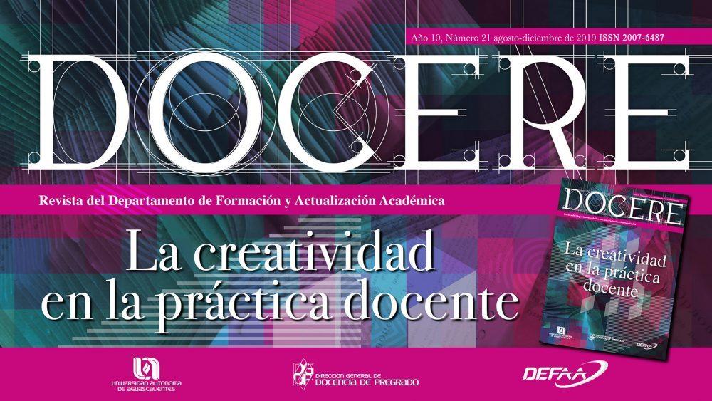 DOCERE #21 – La creatividad  en la práctica docente
