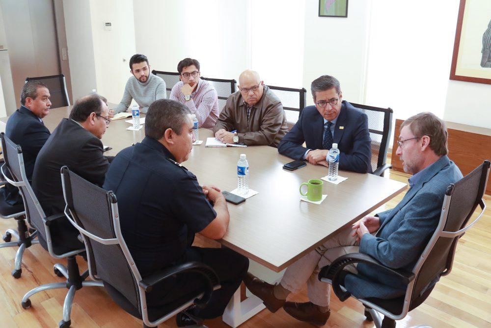Autoridades de la UAA sostienen encuentro con titulares de seguridad del estado