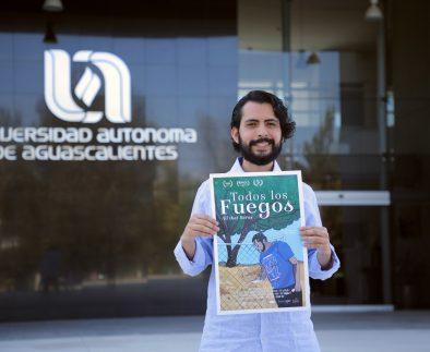 Egresado de la UAA gana el Festival Nacional de Cortometraje Universitario
