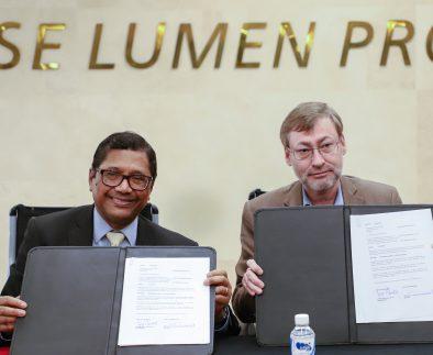 UAA y Fundación Maestro Alfredo Sinclair firman convenio