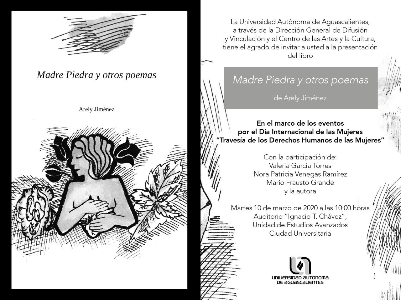 """Presentación del libro """"Madre Piedra y otros Poemas"""