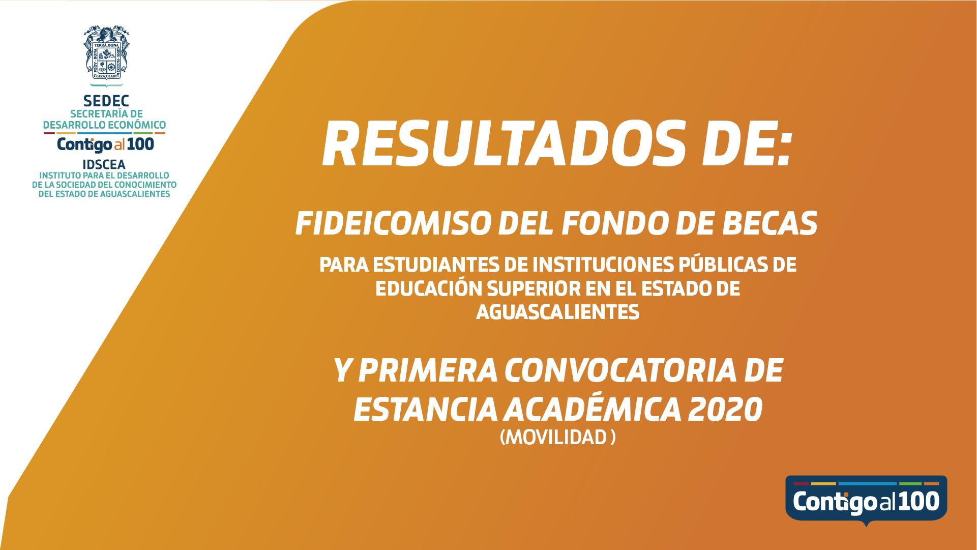 Resultados de la Beca IDSCEA