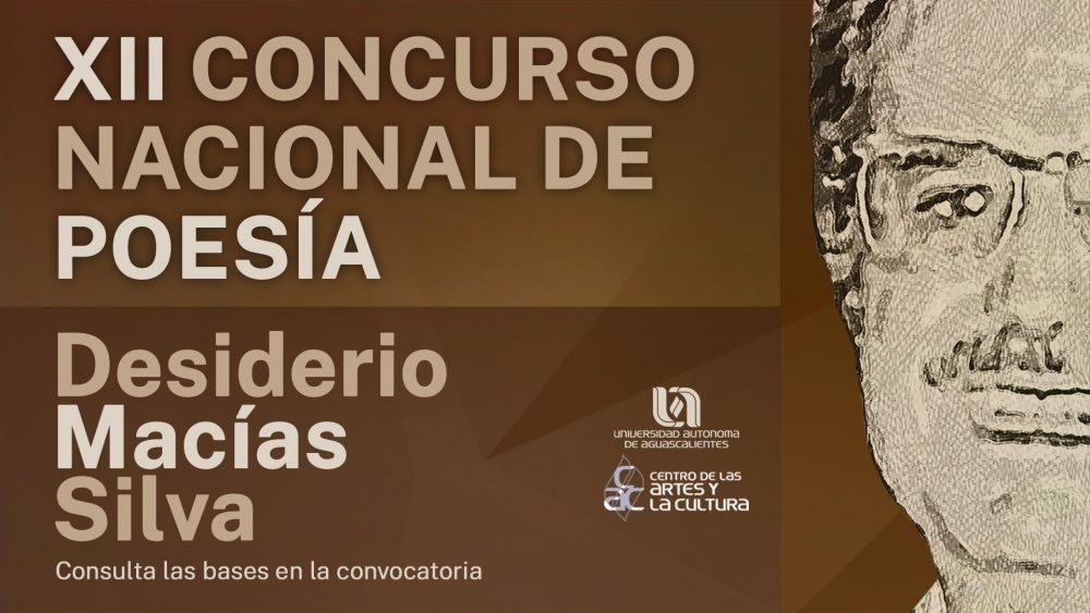 XII Concurso Nacional de Poesía – Desiderio Macías Silva