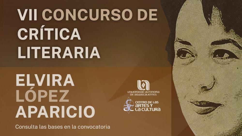 VII Concurso de crítica literaria – Elvira López Aparicio