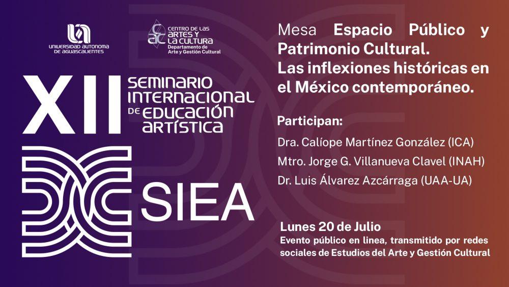 XII Seminario Internacional de Educación Artística