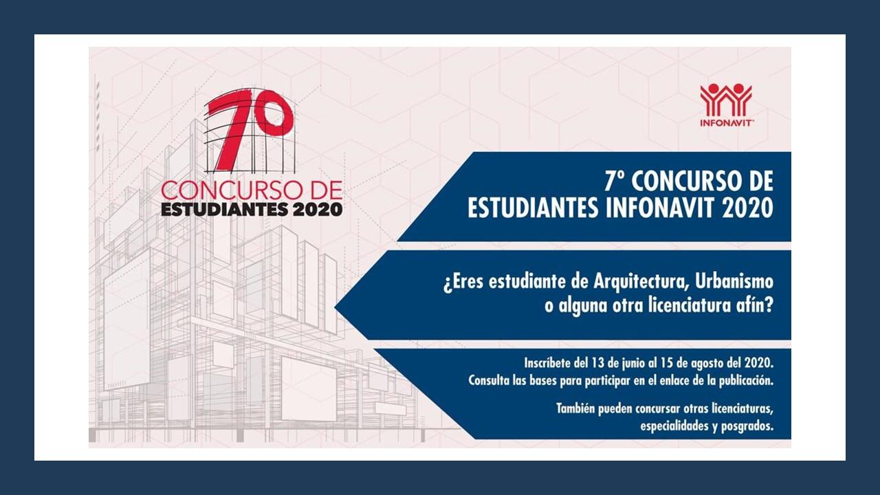 7° Concurso de Estudiantes Infonavit 2020