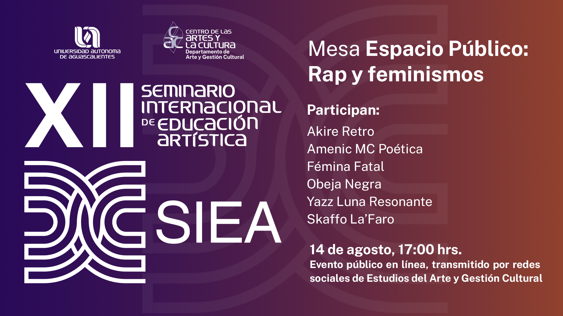 Seminario Internacional en Educación Artística