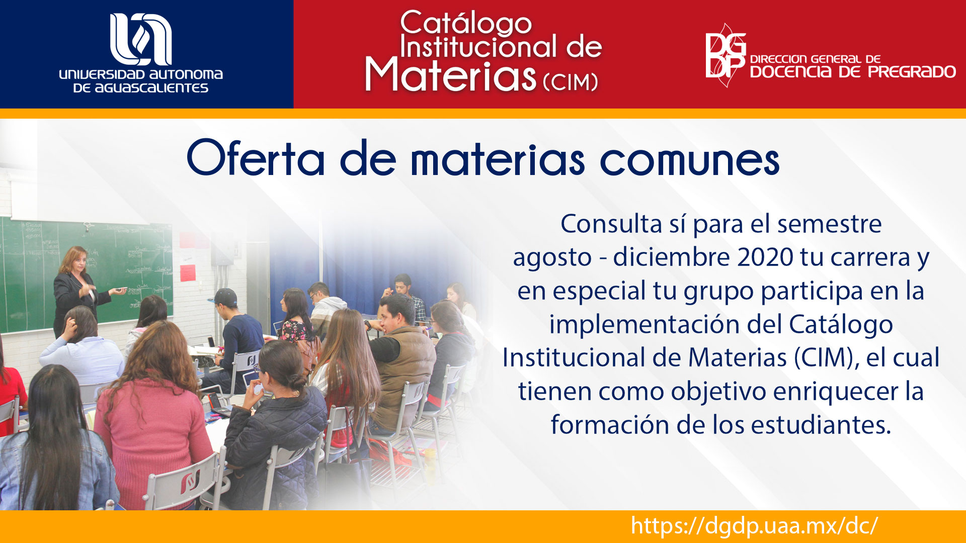 Catálogo Institucional de Materias (CIM)