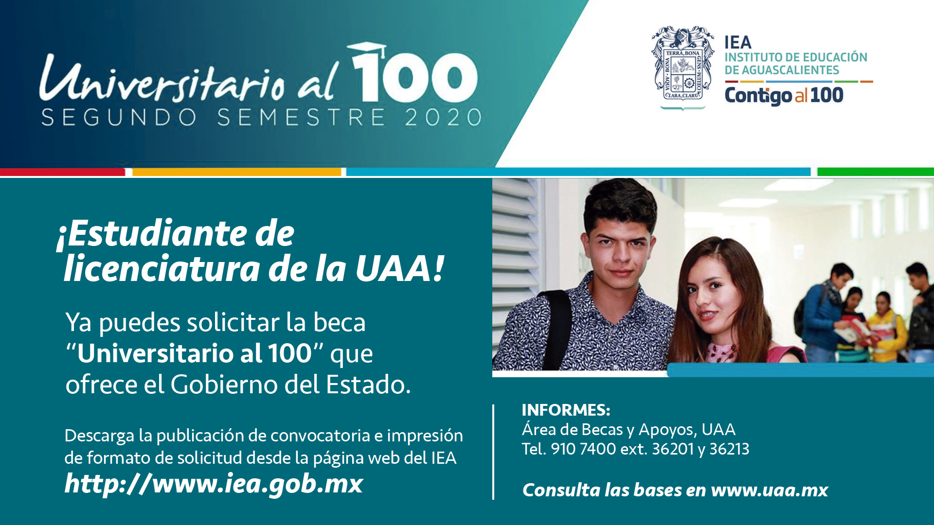 Beca Universitario al 100 Segundo Semestre 202