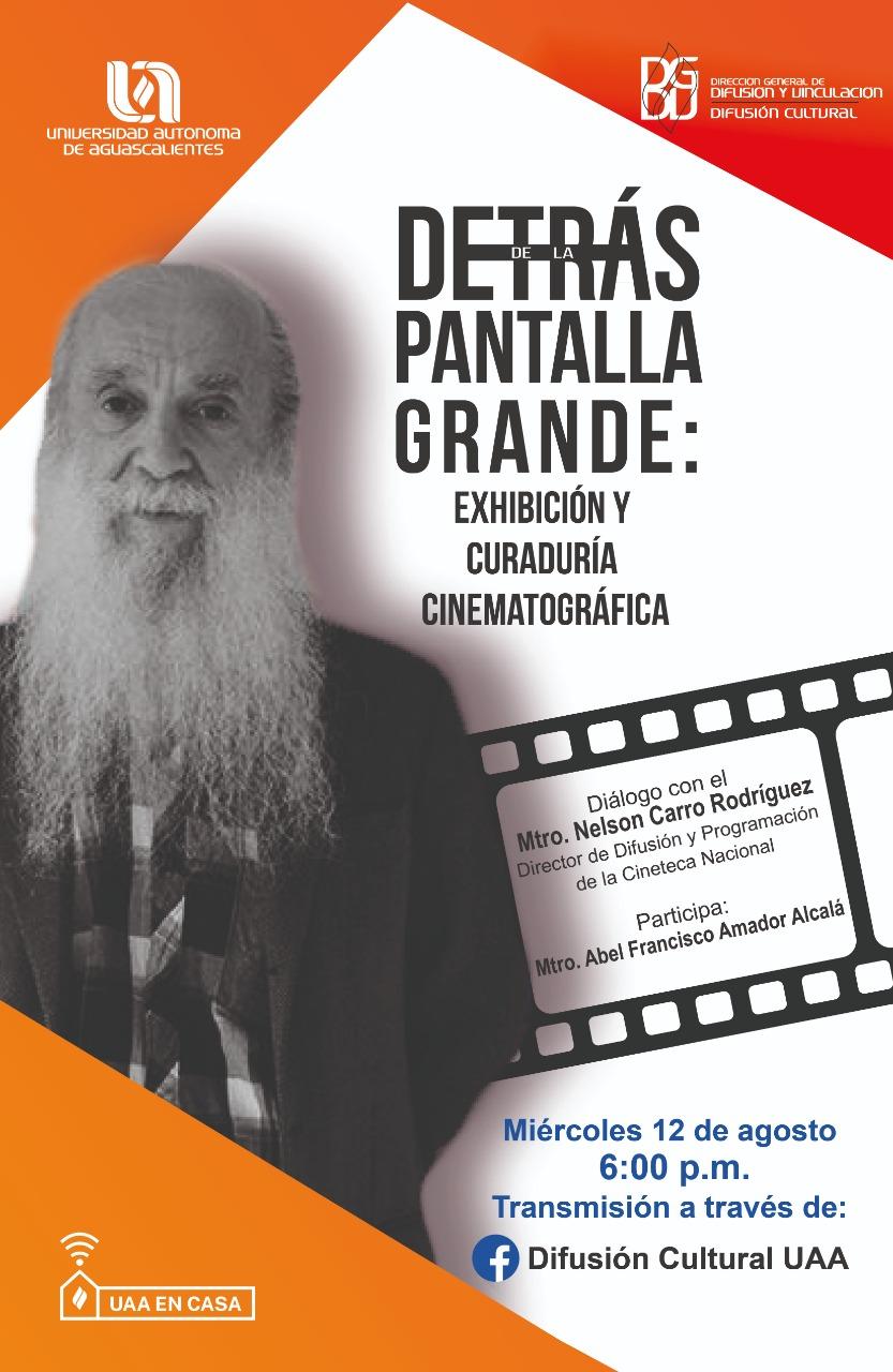 Conferencia con el Mtro. Nelson Carro Rodríguez