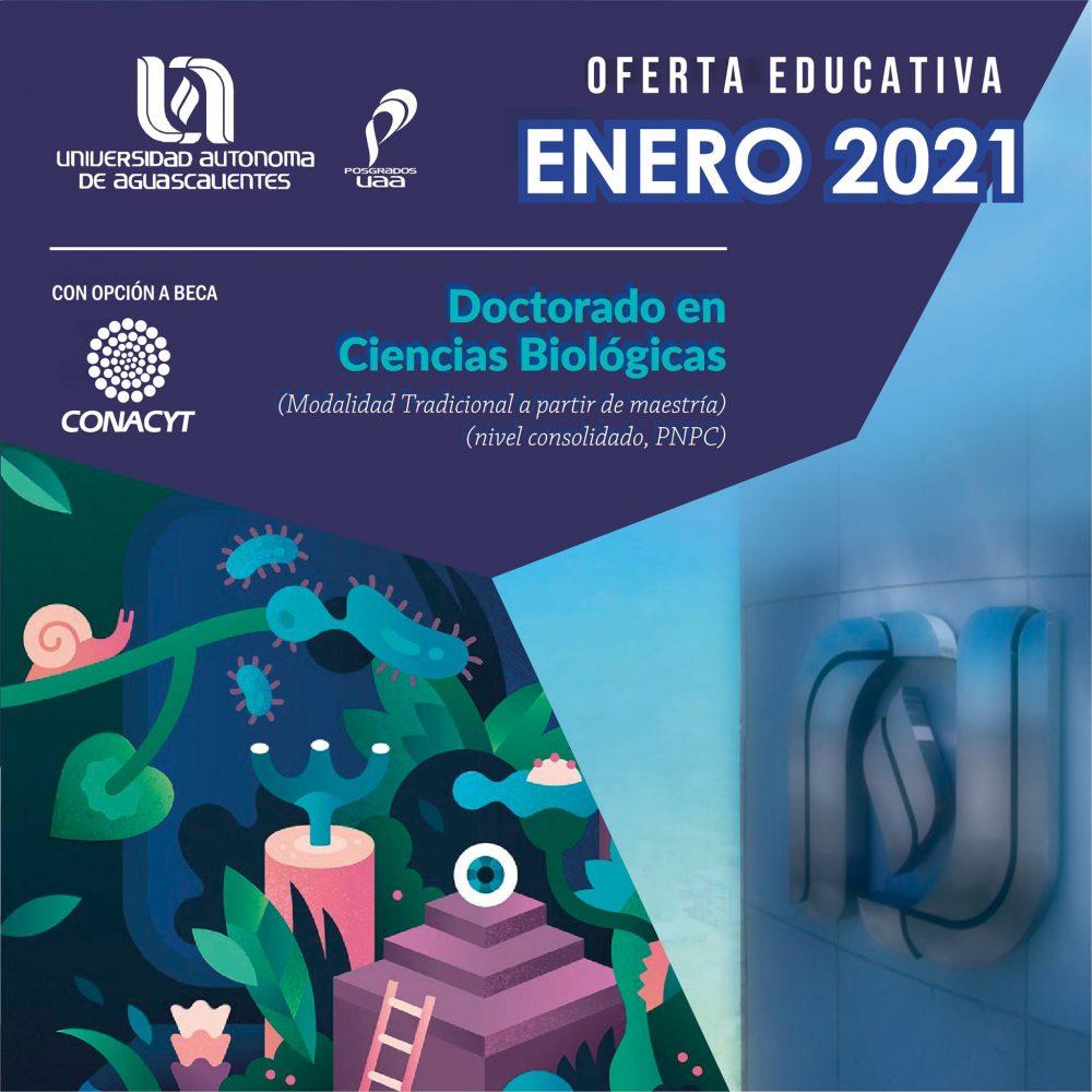Doctorado en Ciencias Biológicas (modalidad tradicional) (PNPC)