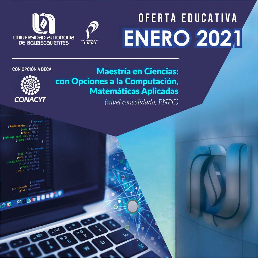 Maestría en Ciencias con Opciones a la Computación, Matemáticas Aplicadas (PNPC)