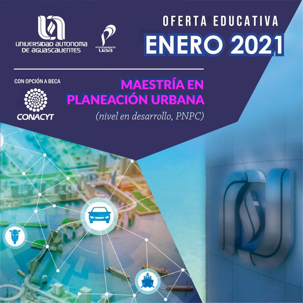 Maestría en Planeación Urbana (PNPC)