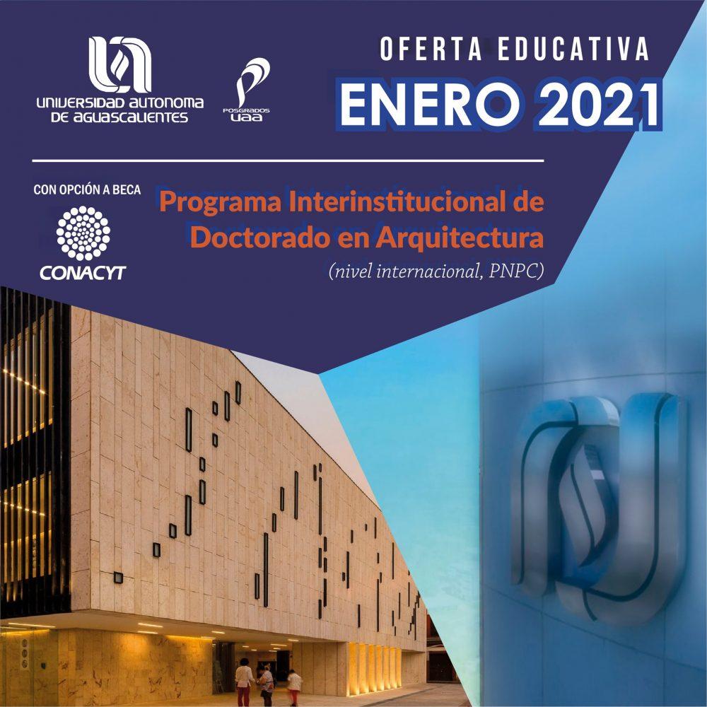 Programa Interinstitucional de Doctorado en Arquitectura (PNPC)