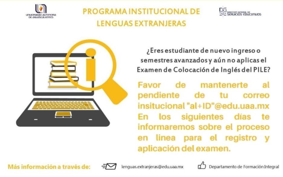 PROGRAMA INSTITUCIONAL DE LENGUAS EXTRANJERAS