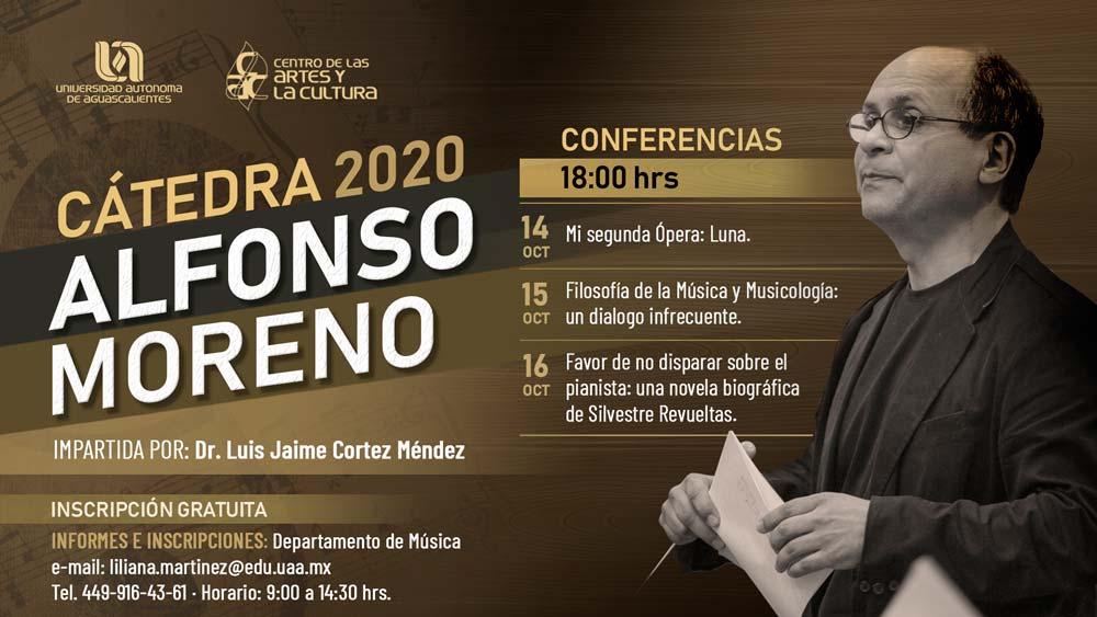 Cátedra Alfonso Moreno 2020