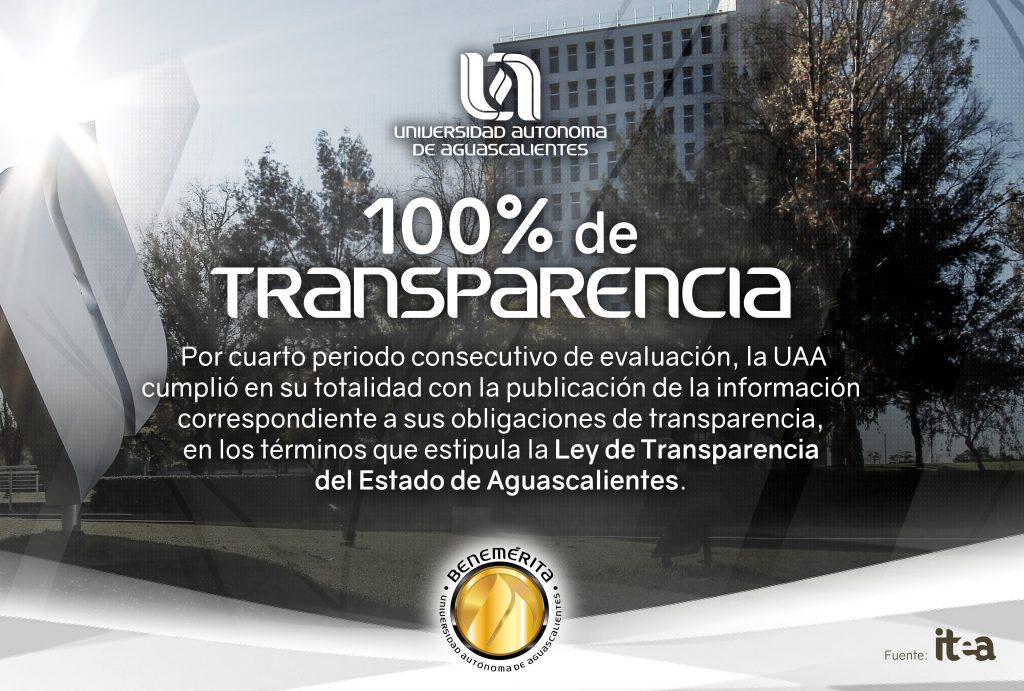 UAA consolida su compromiso con la transparencia y rendición de cuentas