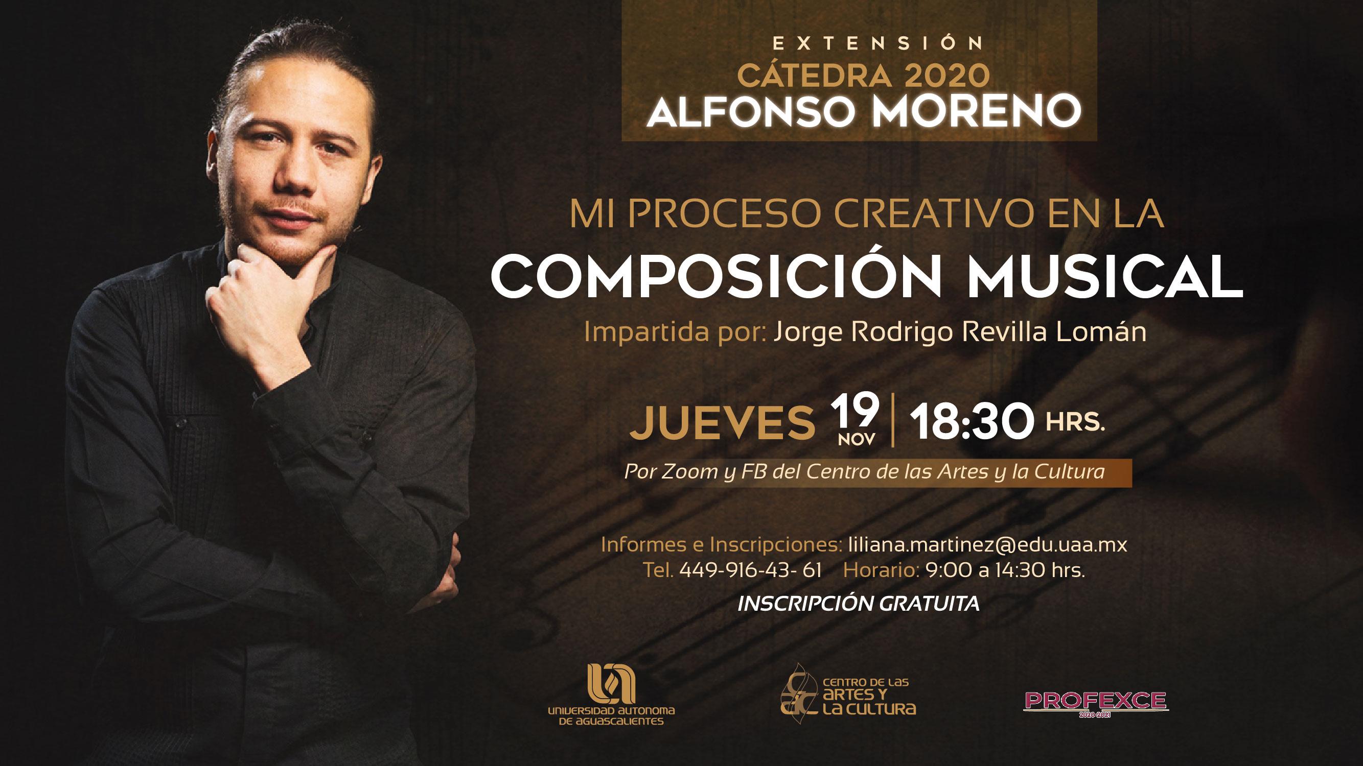 Cátedra Alfonso Moreno