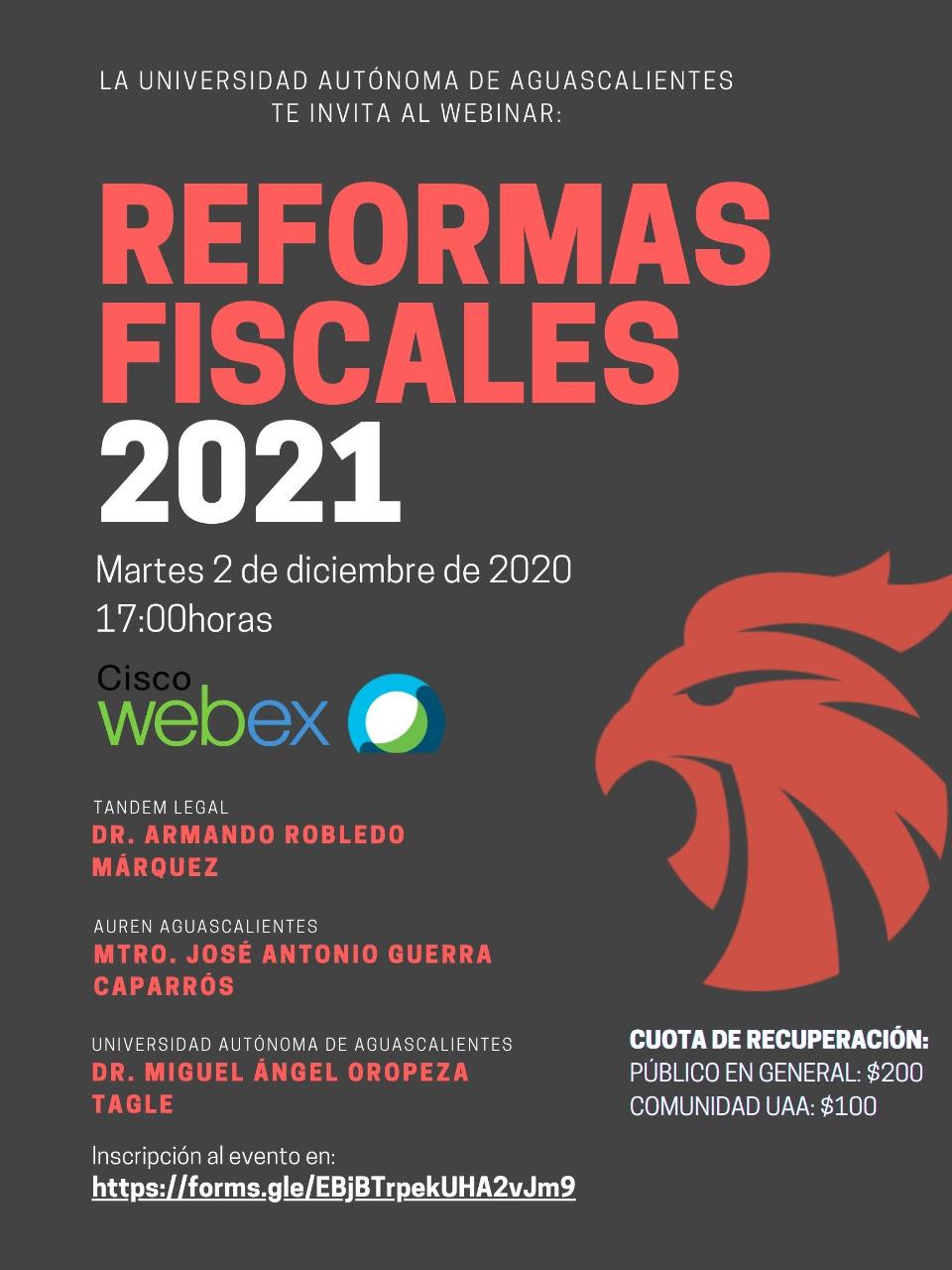 CONFERENCIA DE REFORMAS FISCALES 2021