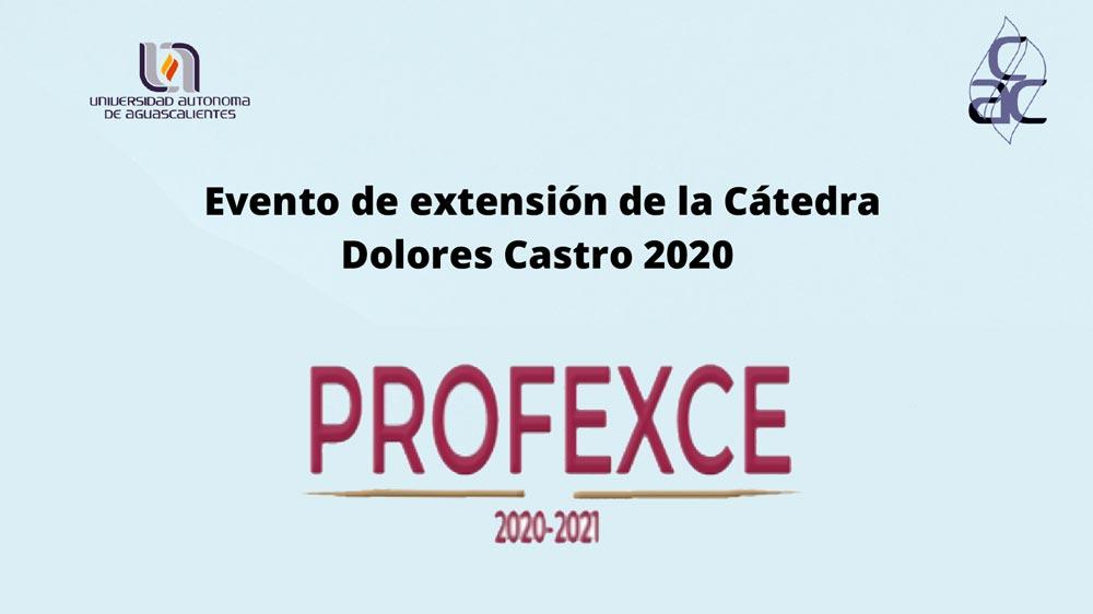 Extensión de la Cátedra Dolores Castro 2020