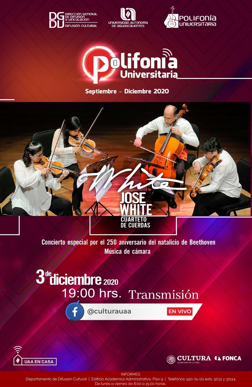 Polifonía Universitaria – Cuarteto José White