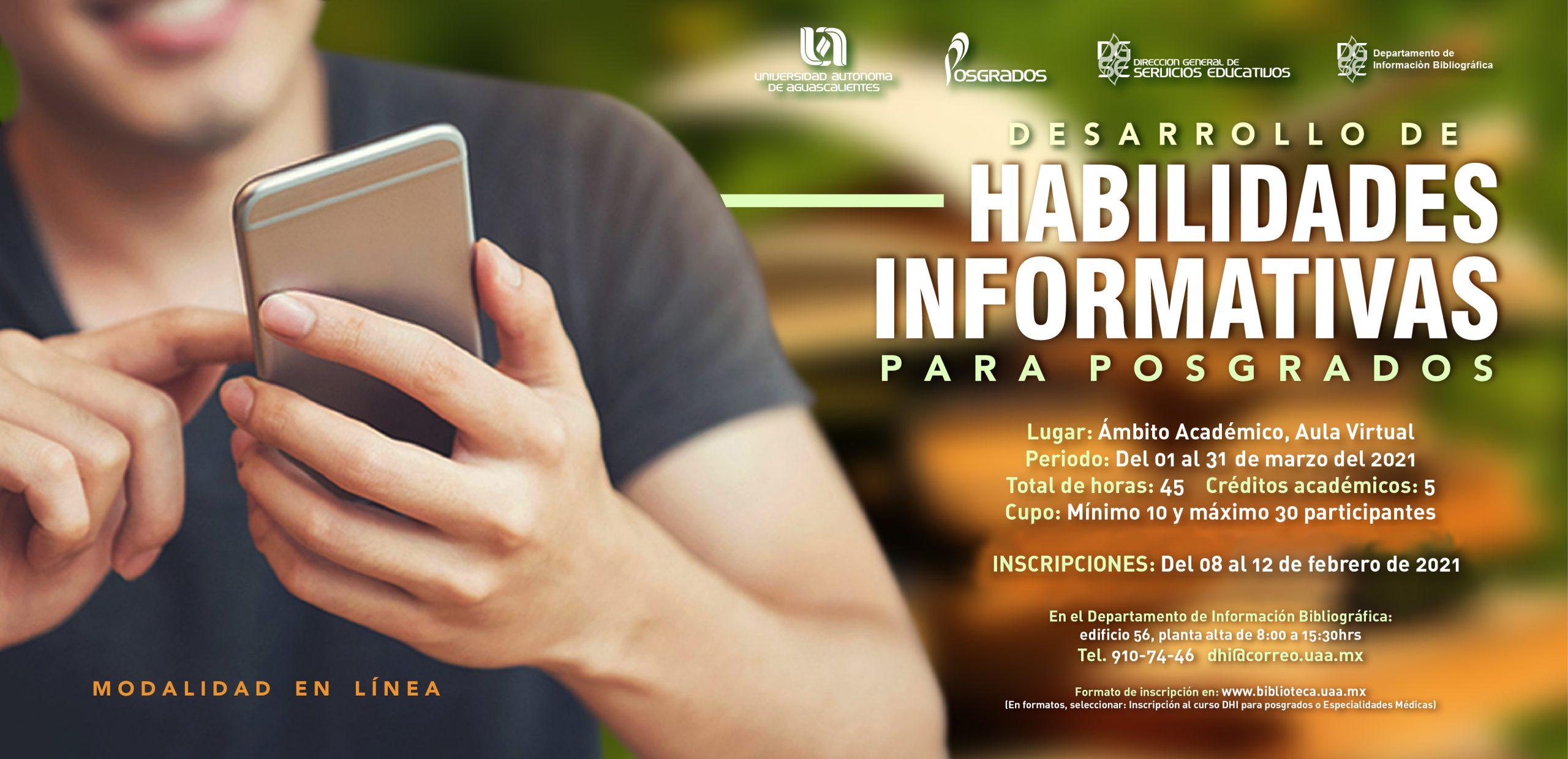 Curso Desarrollo de Habilidades Informativas para Posgrados