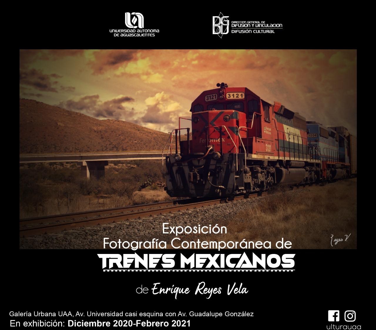 Exposición Fotografía Contemporánea de Trenes Mexicanos