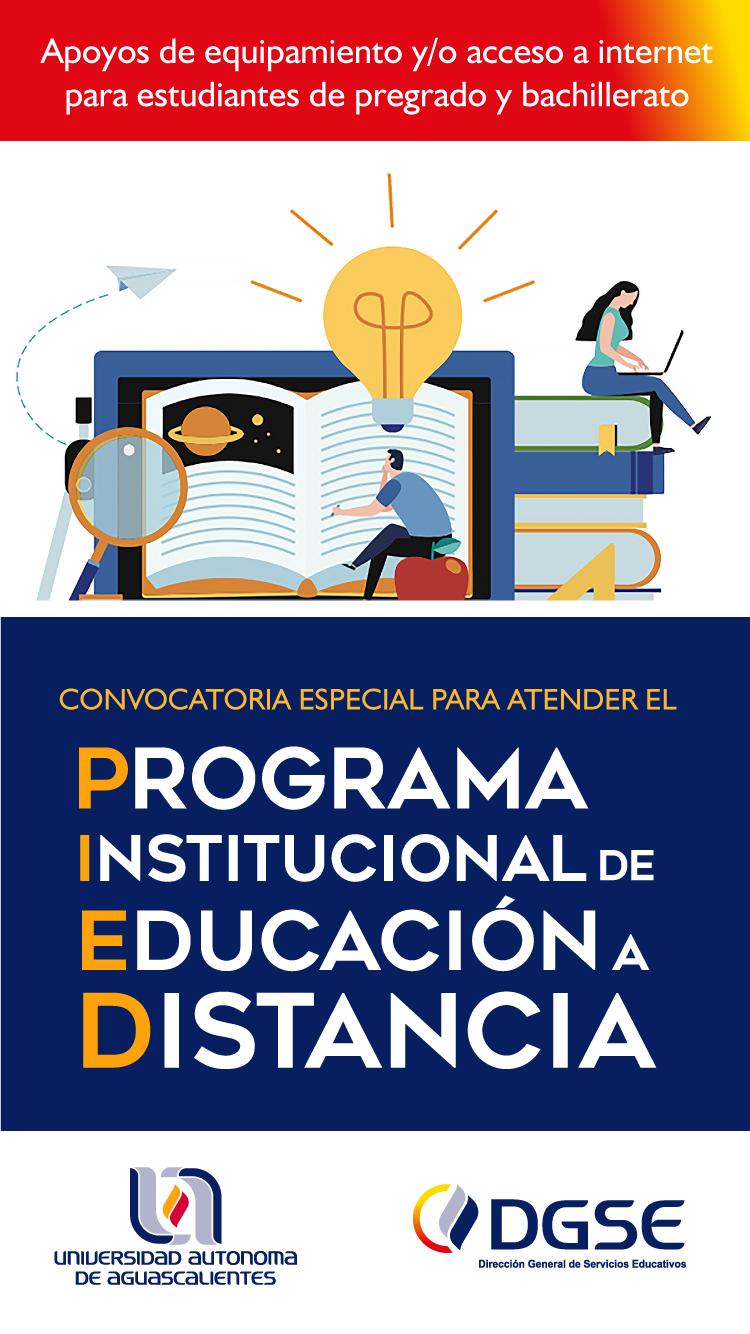 Programa Institucional de Educación a Distancia