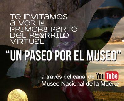 """Museo Nacional de la Muerte de la UAA invita a la población al recorrido virtual """"Un paseo por el museo"""""""