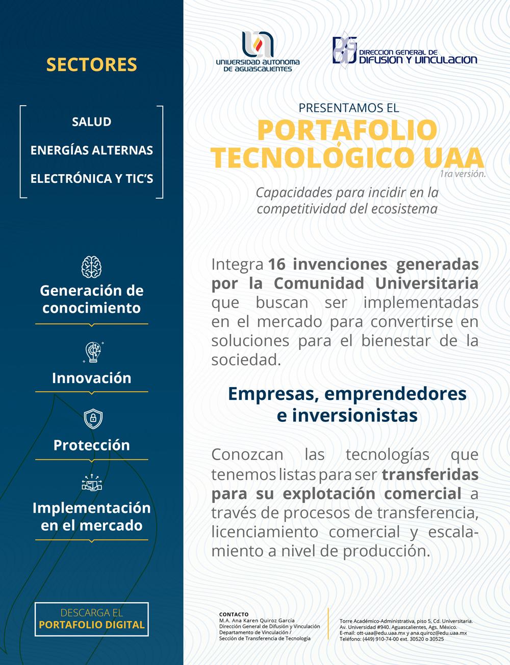 Portafolio Tecnológico UAA