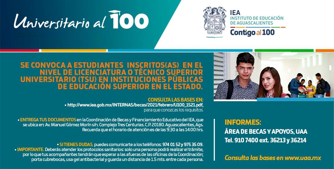 Universitarios al 100%