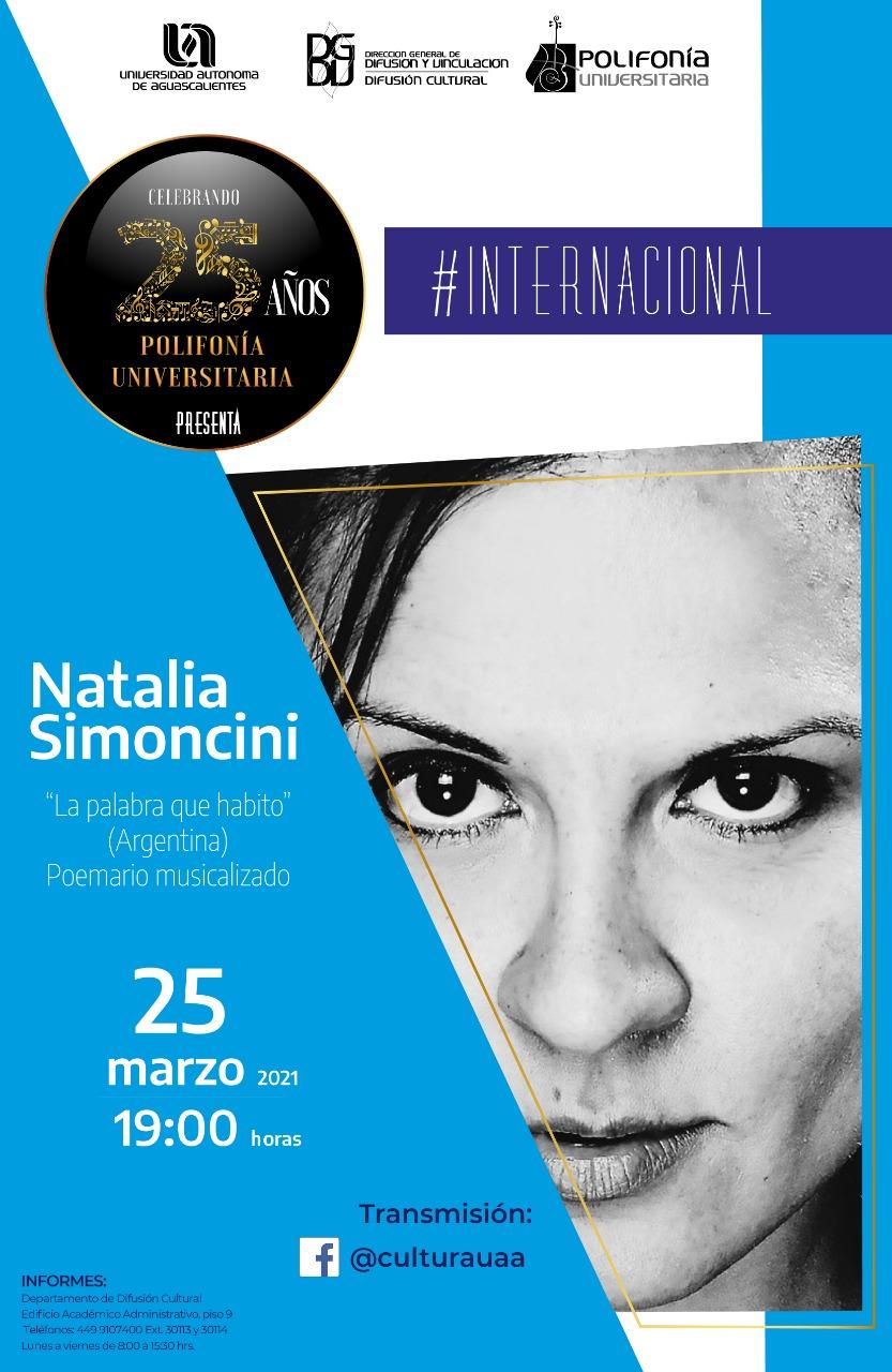 Polifonía Universitaria: Natalia Simoncini