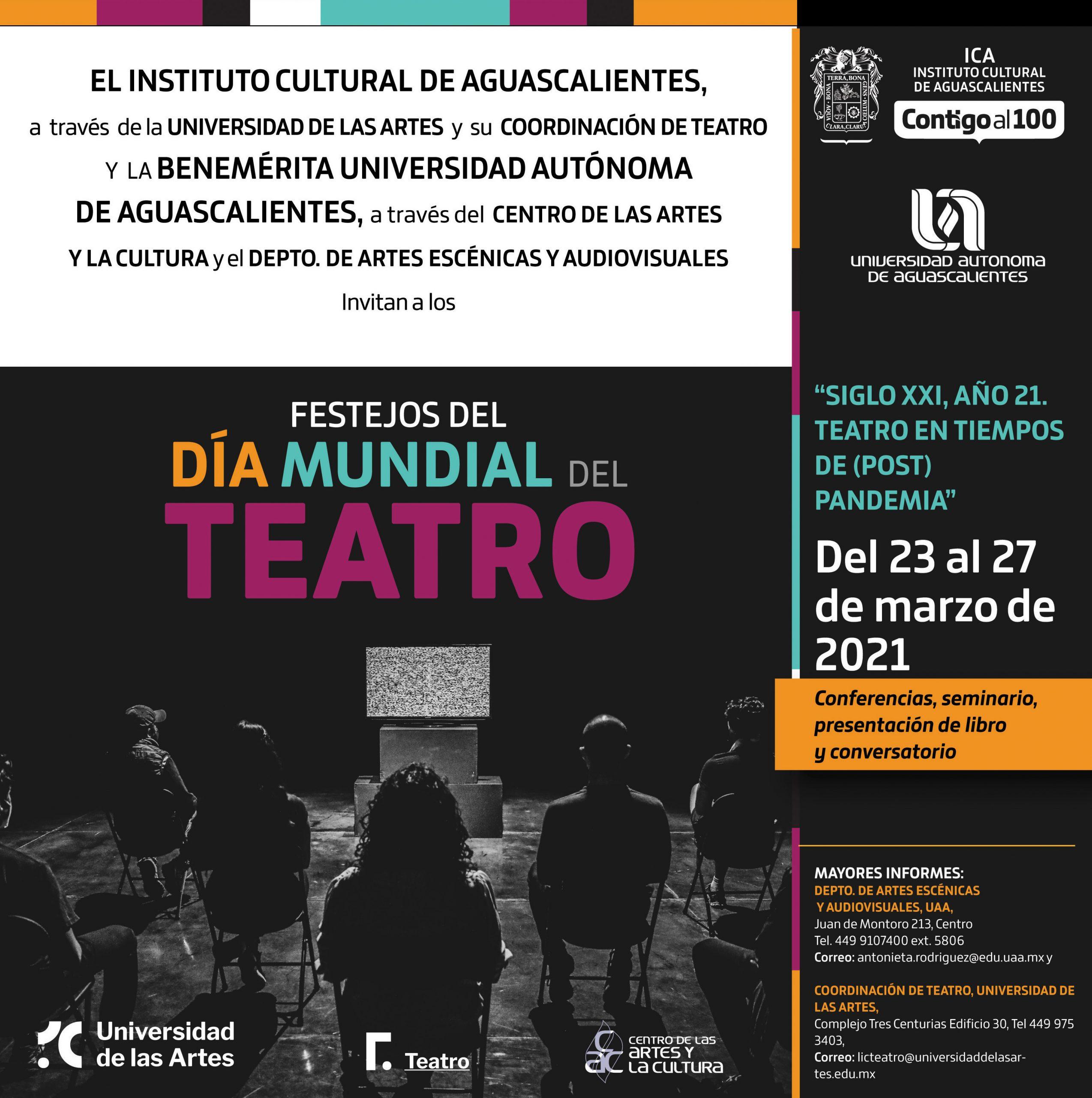 Festejos del Día Mundial del Teatro