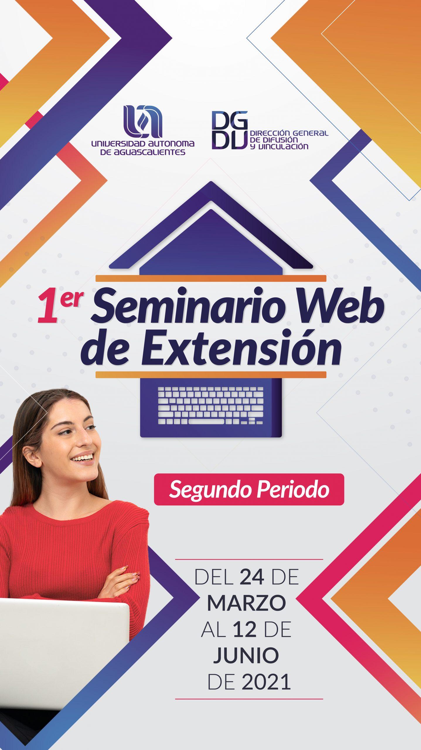 1er Seminario Web de Extensión