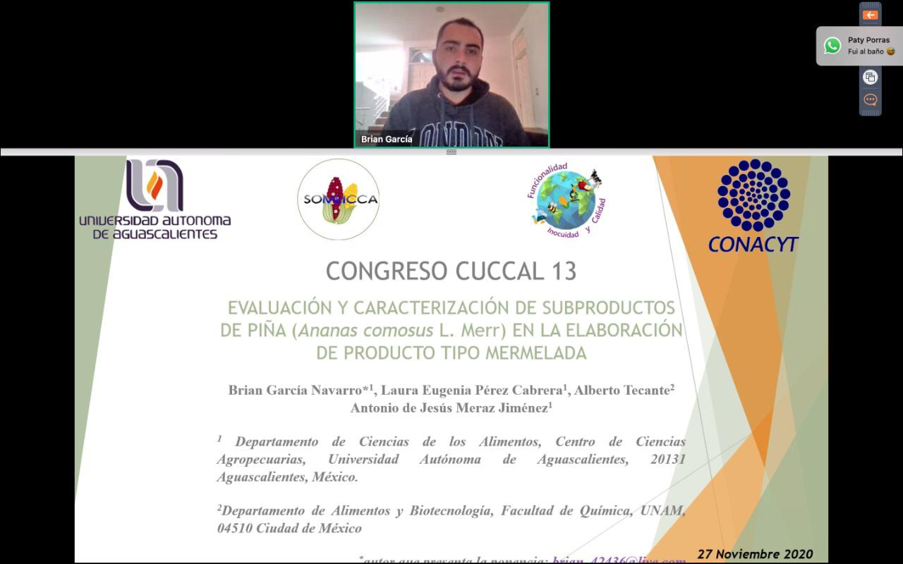 Destacan alumnos y egresados de la UAA en 13° Congreso Internacional CUCCAL 2020 – 2021