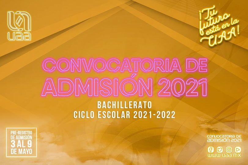 Convocatoria bachuaa2021