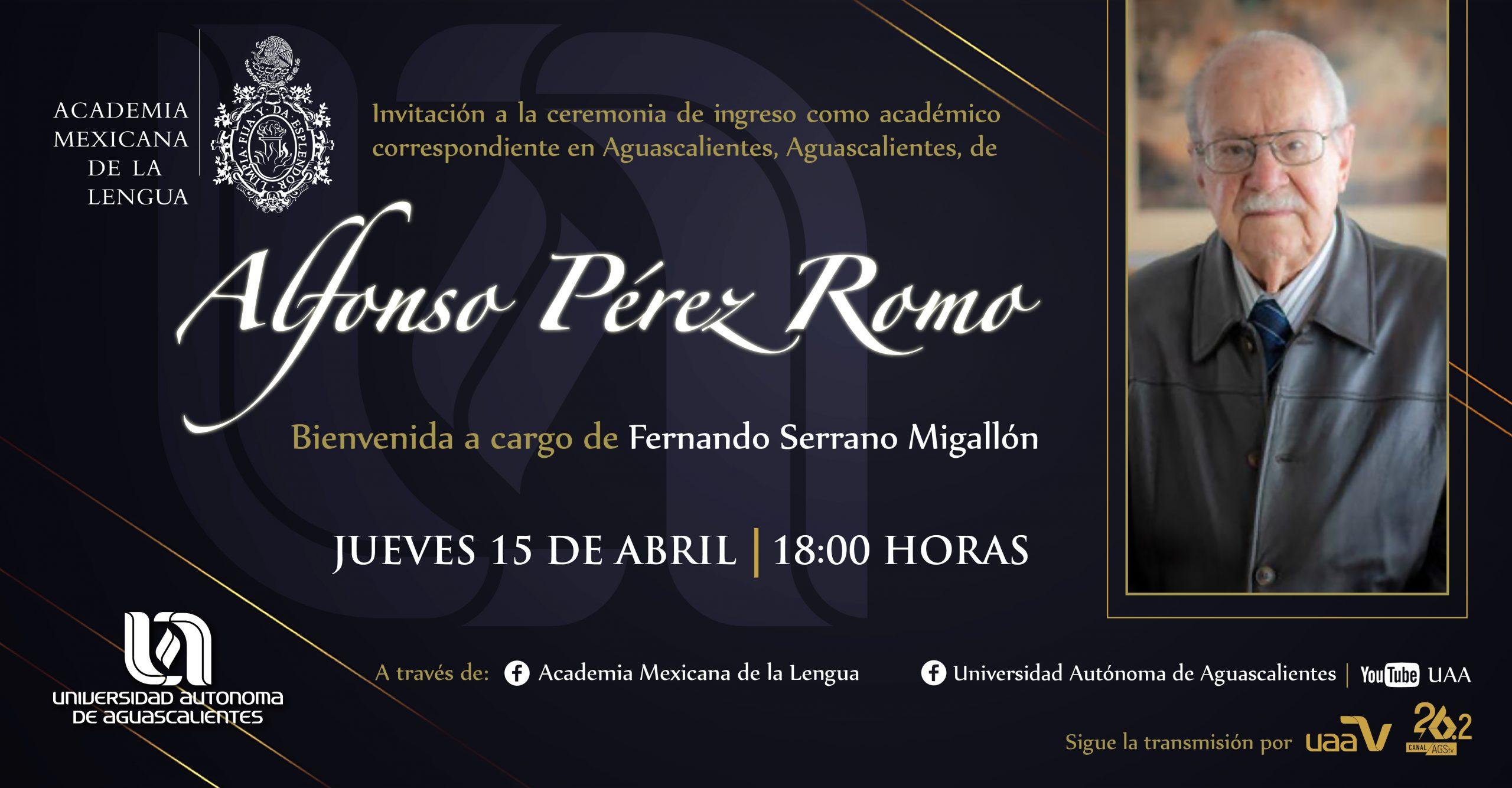 Alfonso Peréz Romo