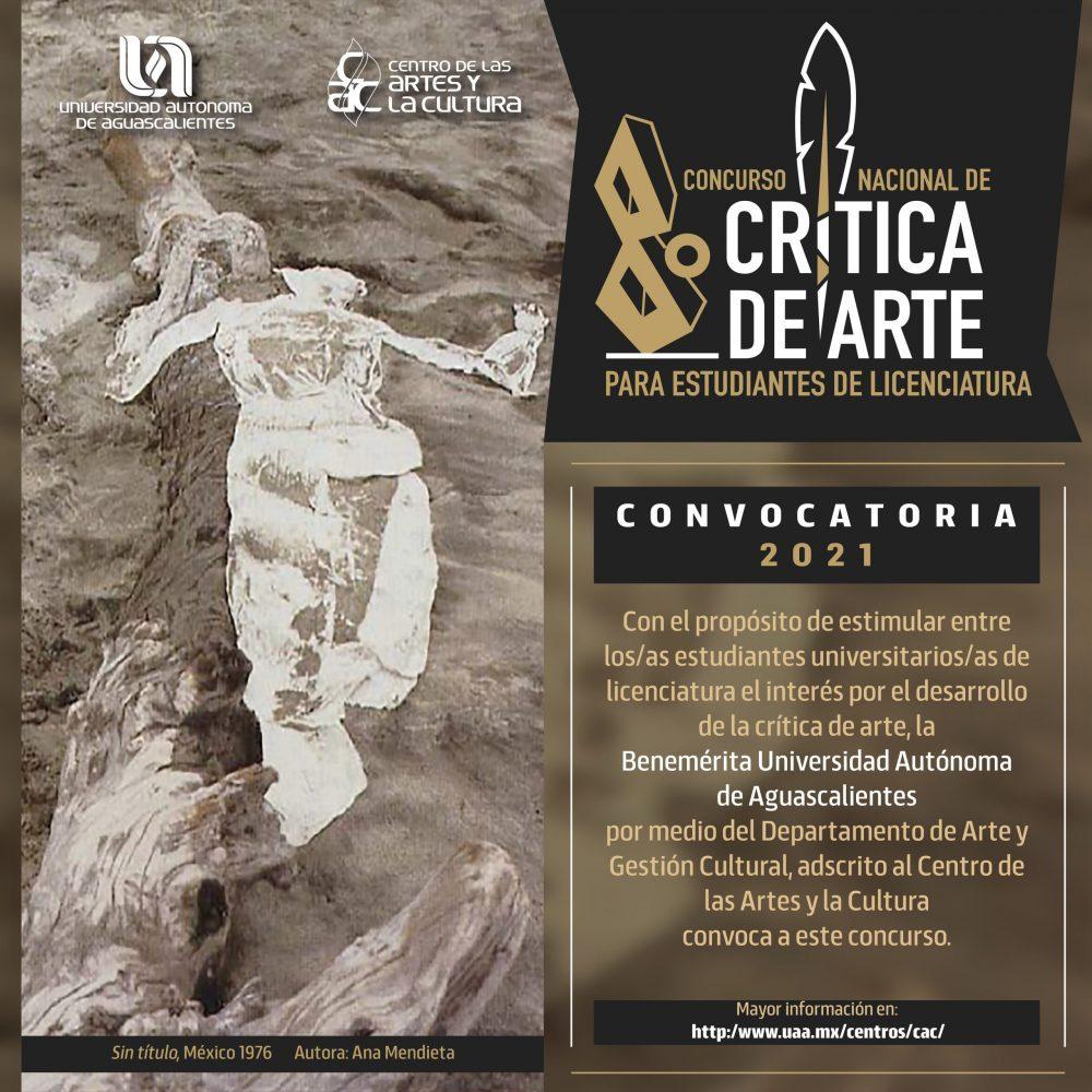 VIII CONCURSO NACIONAL DE CRÍTICA DE ARTE